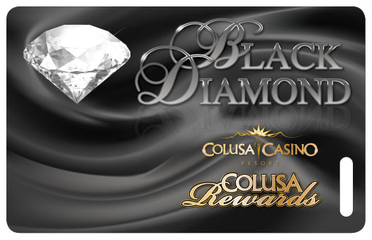 colusa casino rewards black diamond card