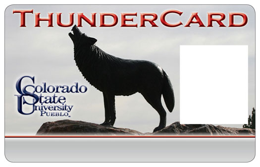 colorado state university student thunder card